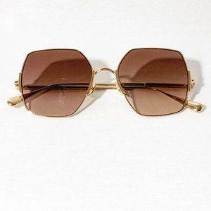 Eden Shiny Gold Sunglasses